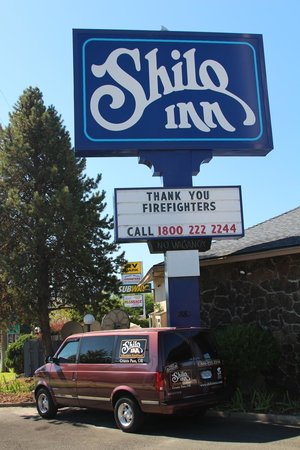 Shilo Inn Grants Pass: Motel entrance