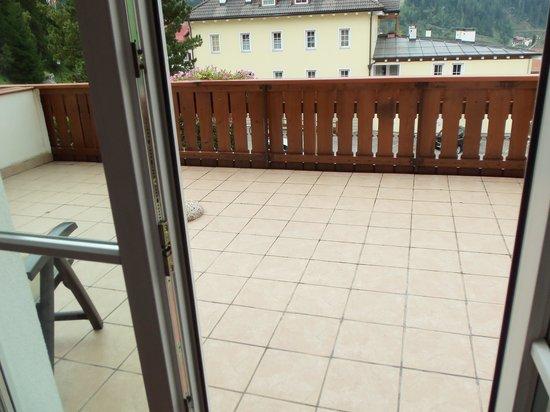Hotel Bel Mont: terrazzo
