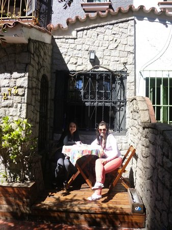 Uvaia Hostel : Exterior del hostal