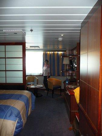 DFDS: Commodore de Luxe cabin - Newcastle/Amsterdam