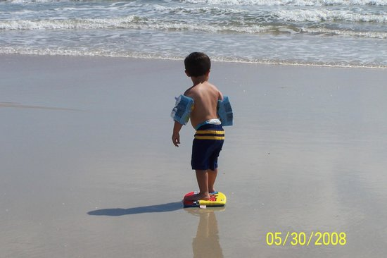 La Playa Resorts & Suites: My son having a blast on the beach