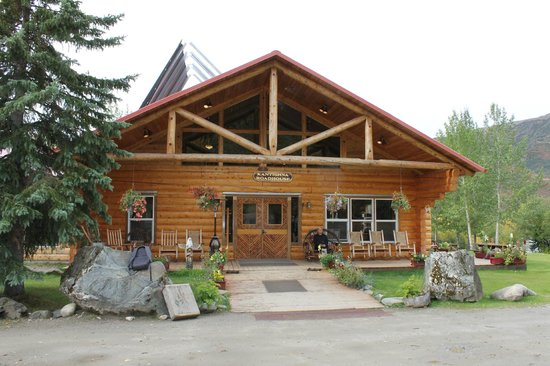 Kantishna Roadhouse : The Front Porch