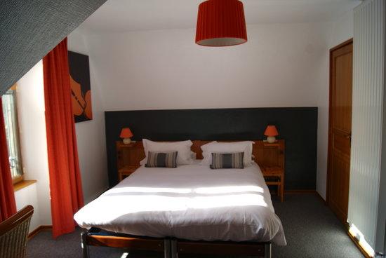 Hotel Le Tilleul Bleu: chambre supérieure