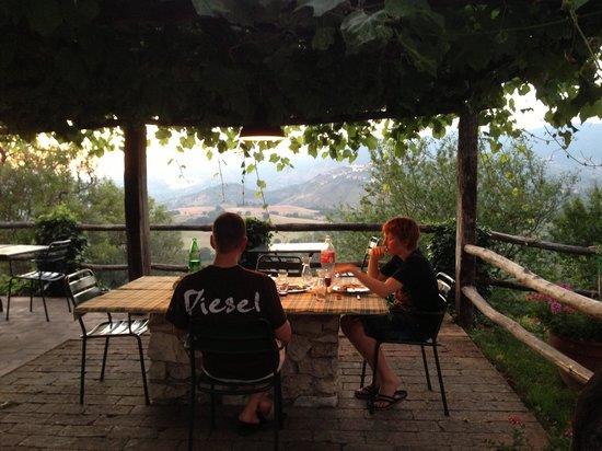 """Agriturismo Sant'Ilario sul Farfa: """"restauranten"""""""