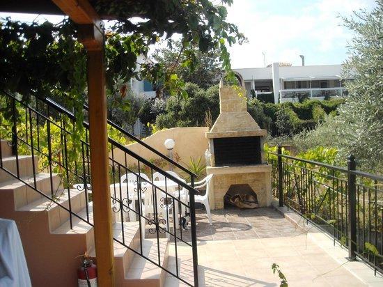 Sissy's Villas: barbecue area