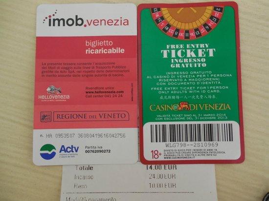Vaporetto: Ticket