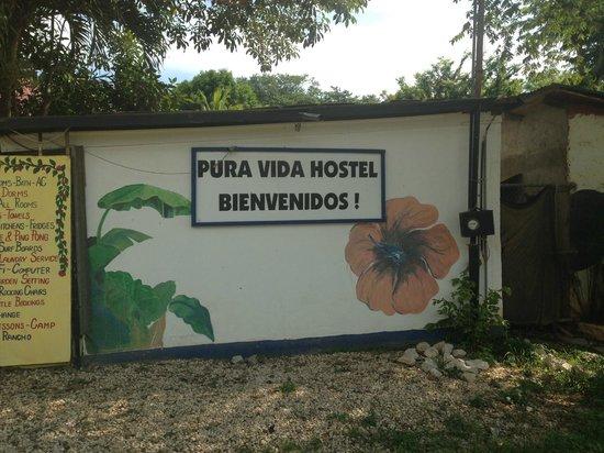 Pura Vida Hostel: Bienvenida!!!