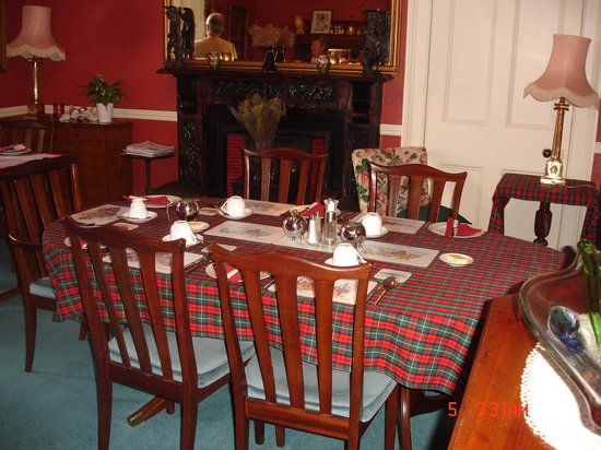 The Old Manse Lochcarron: Breakfast Sdeboard
