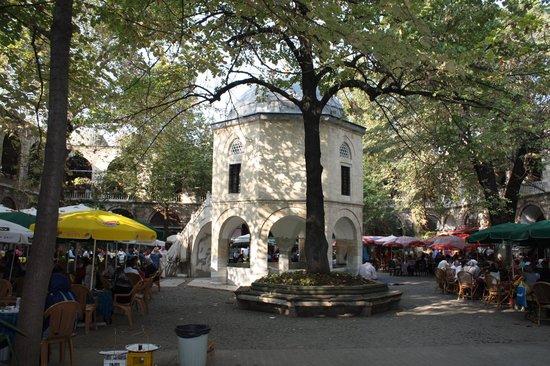 Covered Bazaar (Bedesten): Inner Courtyard