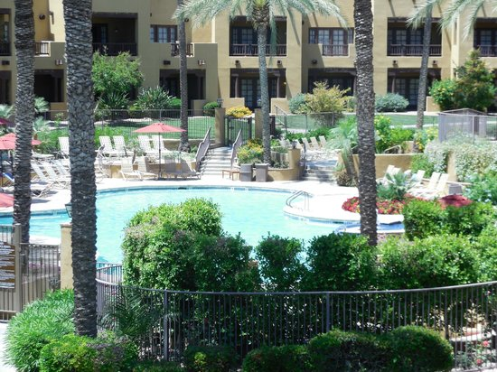 The Wigwam: A View of the Oasis Pool