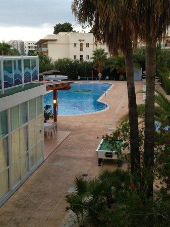 Apartahotel La Sirena: Vista dalla terrazza