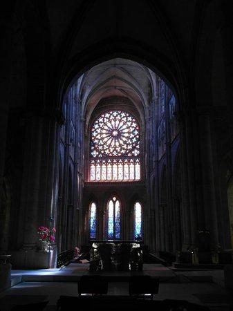 Saint-Vincent -- Saint-Malo : Le vetrate dell'abside