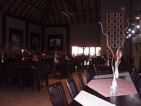 Toshari Lodge: Het restaurant