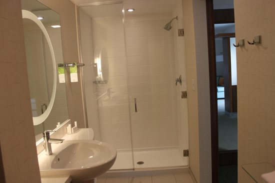 SpringHill Suites Chattanooga Downtown/Cameron Harbor: nice bathroom