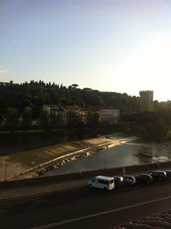 Residence San Niccolo: vista dalle finestrelle!