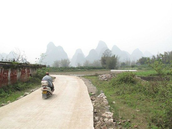 Yangshuo Mountain Retreat: Take a walk or bike ride through the nearby village.