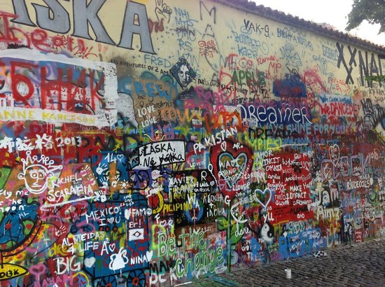 Amazing Walks of Prague - Private Tours: John Lennon wall