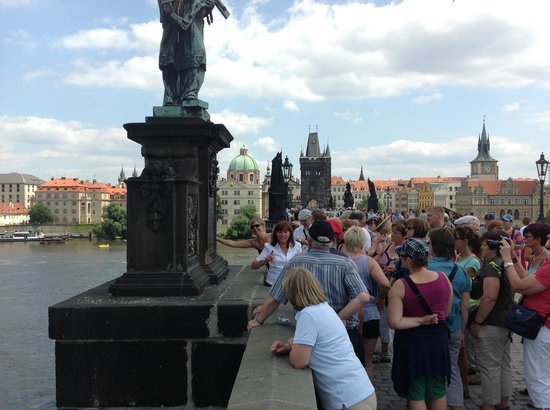 Amazing Walks of Prague - Private Tours: On the bridge making a wish