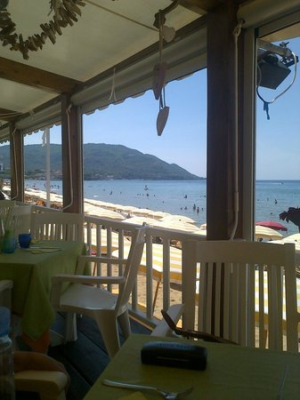 Lido Azzurro: The view from the terrace