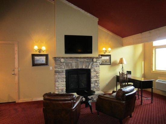 Sierra Nevada Resort & Spa: Fireplace suite