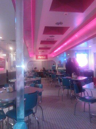 66 Diner: Back room