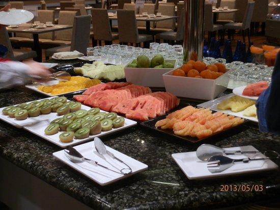 Madrid Marriott Auditorium Hotel & Conference Center: Desayuno