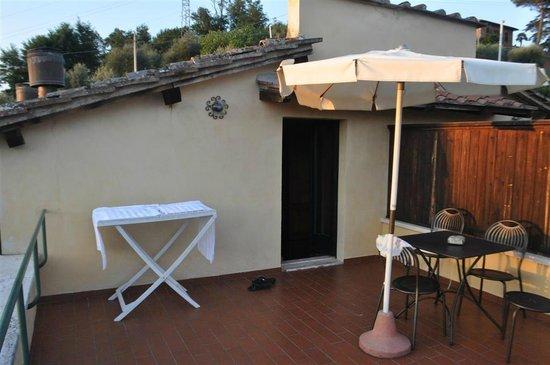 Borgo Grondaie: Terrazza 1 - Terrazza :)