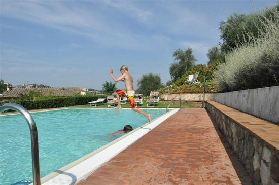 Borgo Grondaie : the pool was fun!