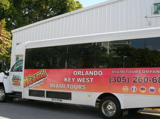 Miami Tour Company Bus