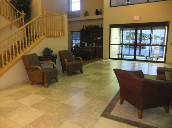 Holiday Inn Express Phoenix Airport (University Drive): Reception area