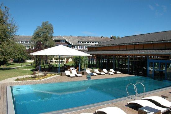 Parkhotel Adler : heated outdoor pool