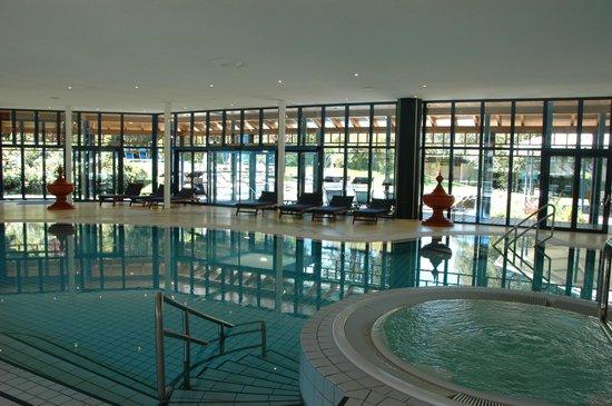 Parkhotel Adler : indoor pool above spa