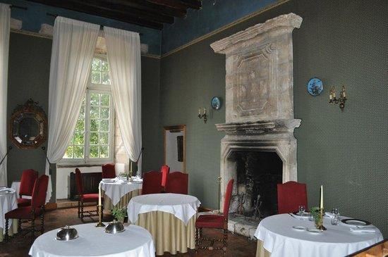 Abbaye de Villeneuve : Comfort eating!