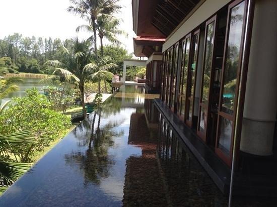 Banyan Tree Phuket: view from waterfront restaurant