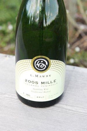 L. Mawby Vineyards: 2005 Vintage Mille Brut Sparking Wine released in 2013.