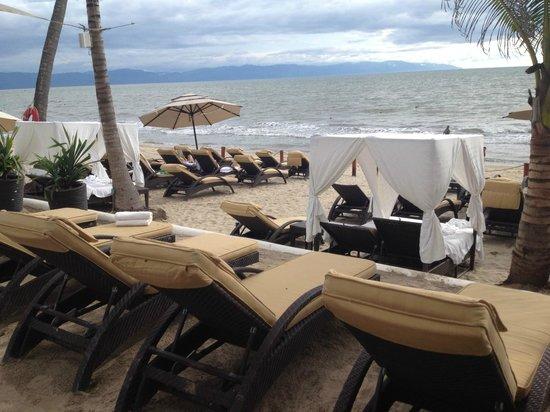 Marival Residences Luxury Resort: club de playa