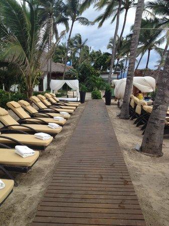 Marival Residences Luxury Resort Nuevo Vallarta: club de playa