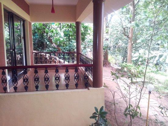 Wynberg Resorts: Terrasse