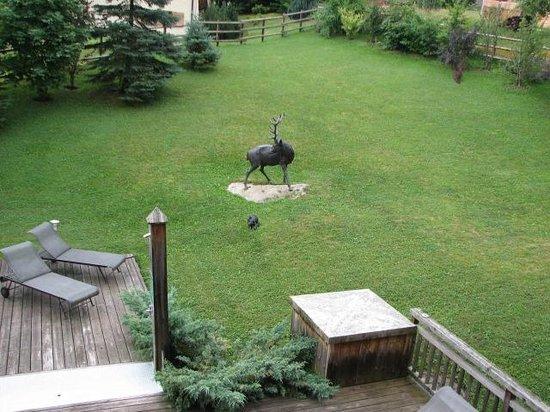 Le Cerf Amoureux : jardin