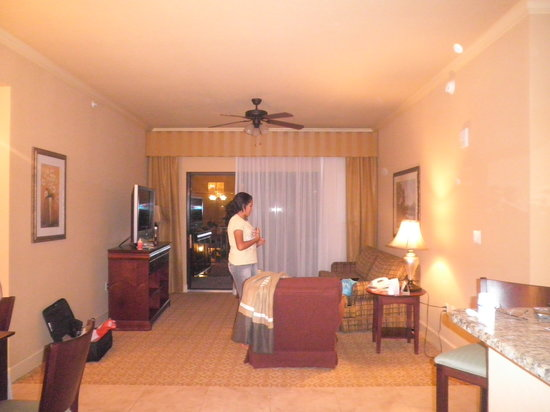 Lake Eve Resort: Nuestra habitacion......