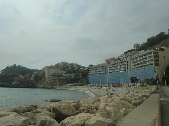 Pierre & Vacances Résidence Altea Beach : El hotel con sus terrazas vista al mar