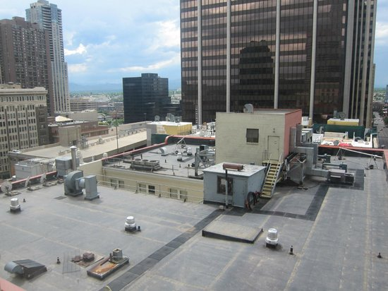 Magnolia Hotel Denver: View from Room