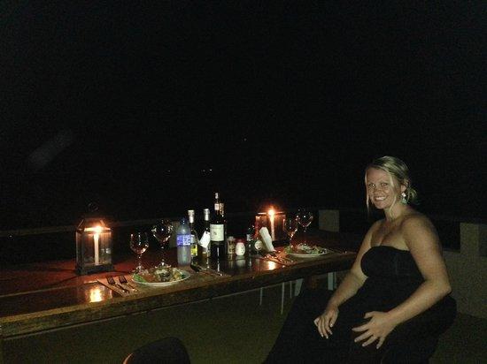 Vila Pedra Mar: Dinner under the Stars