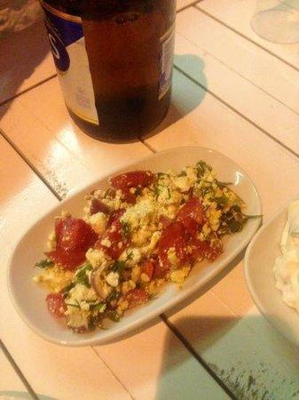 Kalamare: great salad