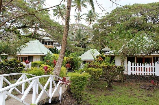 Koro Sun Resort and Rainforest Spa : Hotel outside