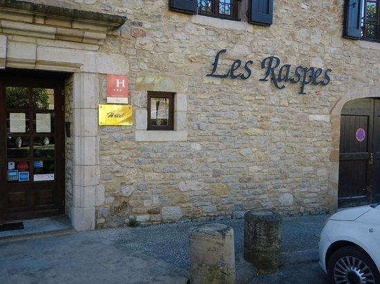Hotel les Raspes: entrée