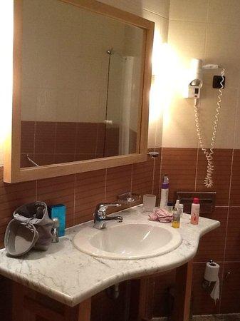 Hotel Sabri: salle de bain