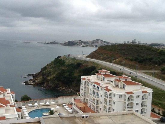 Hotel Sabri: vue de la chambre 602