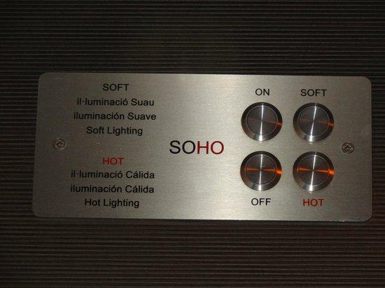 Soho Hotel: Nice touch