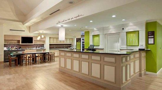 hilton garden inn hershey front desk and kitchen - Hilton Garden Inn Hershey
